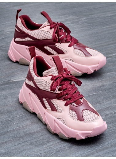 Elle Sneakers Pembe